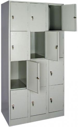 Шкаф металлический для сумок ШРМ - 312 купить на выгодных условиях в Курске