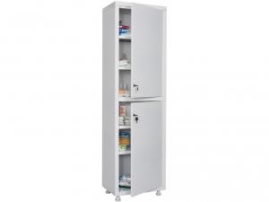Металлический шкаф медицинский HILFE MD 1 1657/SS купить на выгодных условиях в Курске