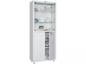 Металлический шкаф медицинский HILFE MD 2 1670/SG купить на выгодных условиях в Курске