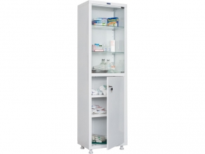 Металлический шкаф медицинский HILFE MD 1 1650/SG купить на выгодных условиях в Курске