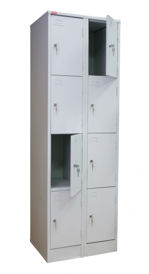Шкаф металлический для сумок ШРМ - 28 купить на выгодных условиях в Курске