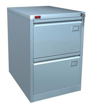Шкаф металлический картотечный КР - 2 купить на выгодных условиях в Курске