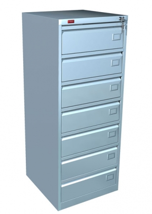 Шкаф металлический картотечный КР - 7 купить на выгодных условиях в Курске