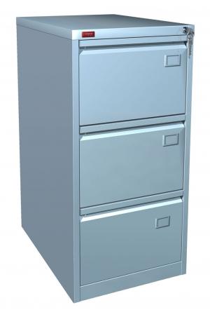 Шкаф металлический картотечный КР - 3 купить на выгодных условиях в Курске