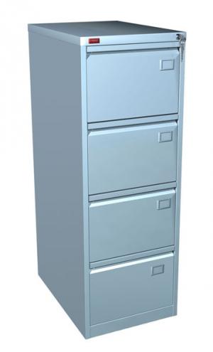 Шкаф металлический картотечный КР - 4 купить на выгодных условиях в Курске