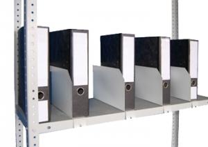 Папкодержатель 40 для стеллажа архивного металлического купить на выгодных условиях в Курске