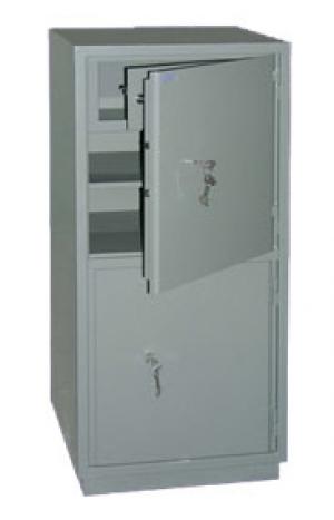 Шкаф металлический бухгалтерский КС-2Т купить на выгодных условиях в Курске