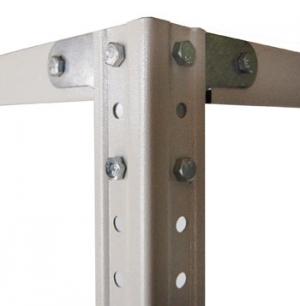 Комплект крепежа (1 комплект) для стеллажа архивного металлического купить на выгодных условиях в Курске