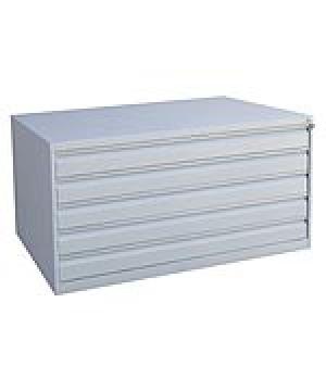 Шкаф металлический картотечный ШК-5-А0 купить на выгодных условиях в Курске