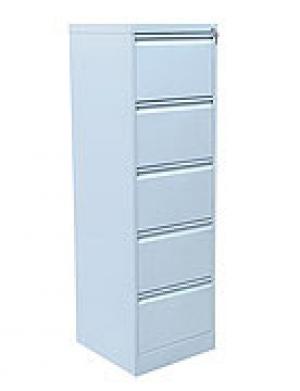 Шкаф металлический картотечный ШК-5 (5 замков) купить на выгодных условиях в Курске