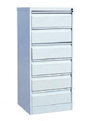Шкаф металлический картотечный ШК-6(A5) 6 замков купить на выгодных условиях в Курске