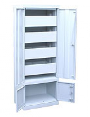 Шкаф металлический картотечный ШК-4-Д4 купить на выгодных условиях в Курске