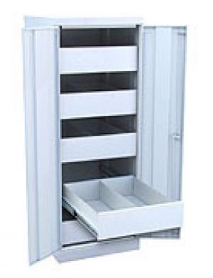 Шкаф металлический картотечный ШК-5-Д2 купить на выгодных условиях в Курске