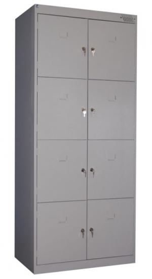 Шкаф металлический для сумок ШРК-28-600 купить на выгодных условиях в Курске