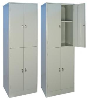 Шкаф металлический для хранения документов ШРМ - 24.0 купить на выгодных условиях в Курске