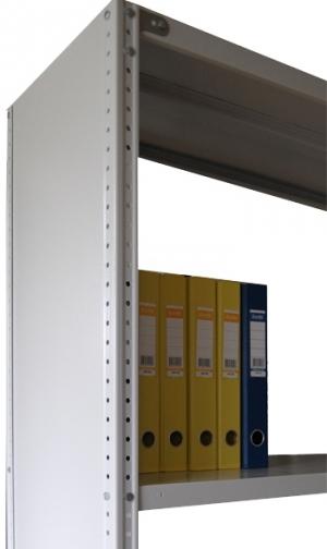 Стенка 100/60 для стеллажа архивного металлического купить на выгодных условиях в Курске