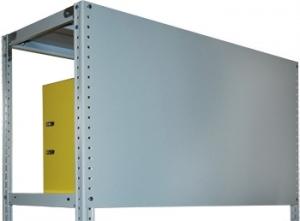 Стенка 50/100 для стеллажа архивного металлического купить на выгодных условиях в Курске