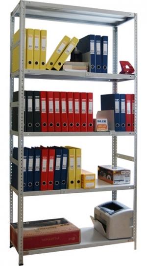 Стеллаж металлический сборный усиленный 245-2.5 купить на выгодных условиях в Курске