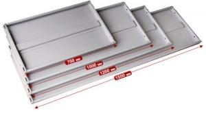 Полка 70/80 для стеллажа архивного металлического купить на выгодных условиях в Курске