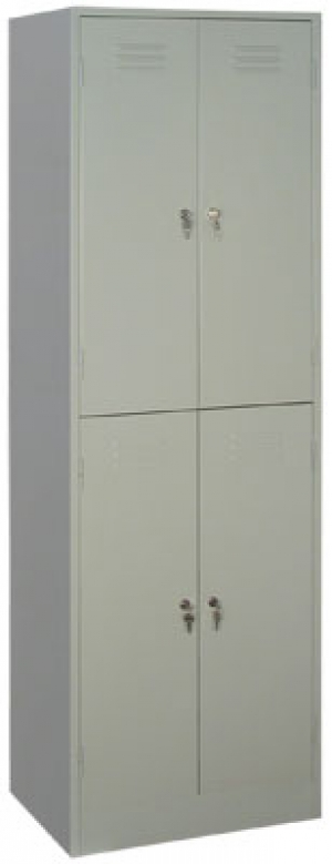 Шкаф металлический для одежды ШРМ - 24