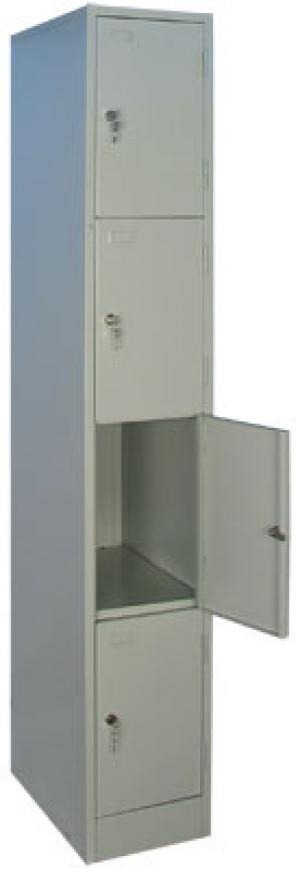 Шкаф металлический для сумок ШРМ - 14 купить на выгодных условиях в Курске