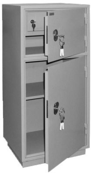Шкаф металлический для хранения документов КБ - 042т / КБС - 042т