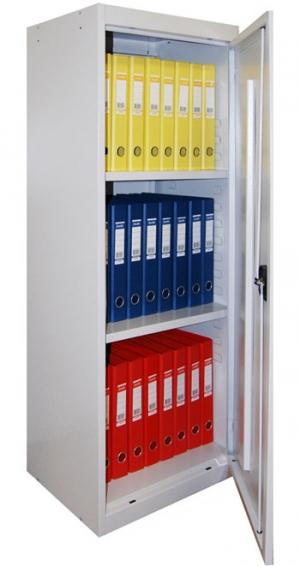 Шкаф металлический архивный ШХА-50 (40)/1310 купить на выгодных условиях в Курске