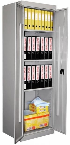 Шкаф металлический архивный ШХА-850 купить на выгодных условиях в Курске