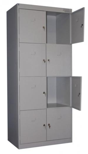 Шкаф металлический для сумок ШРК-28-800 купить на выгодных условиях в Курске